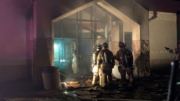 St. Paul officials suspect arson in Conway Community Center fire