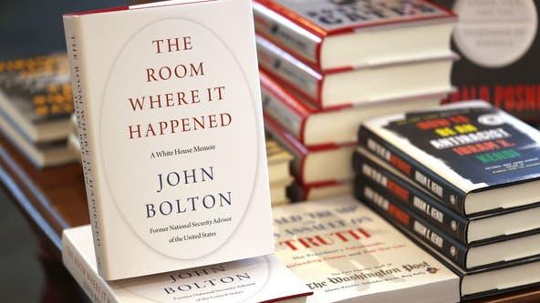 DOJ drops lawsuit over John Bolton book, 'The Room Where It Happened'