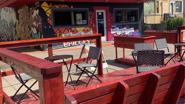 Minneapolis opens 'parklet' at 38th and Chicago