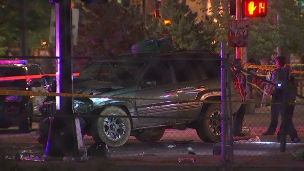 Police ID suspect arrested for driving into protesters in Uptown