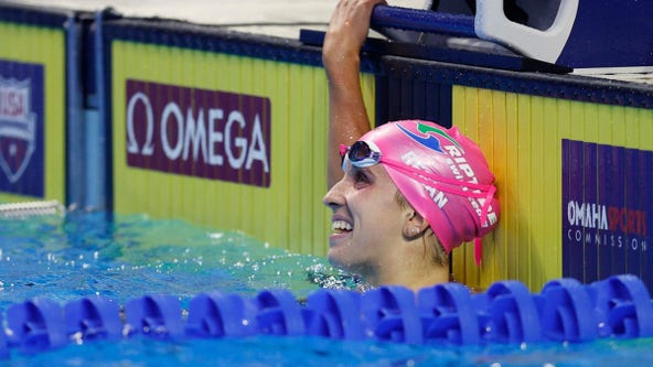 Regan Smith of Lakeville wins 100m backstroke, qualifies for Olympics