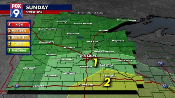 Rain finally arrives in Twin Cities Sunday