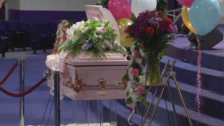 Aniya Allen casket