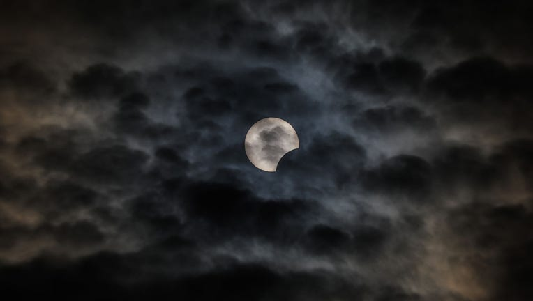 GETTY partial solar eclipse