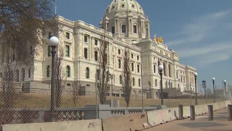 Minnesota State Capitol fence