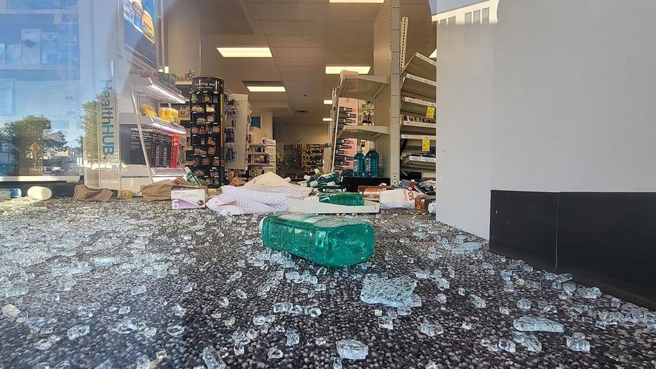 CVS pharmacy looting