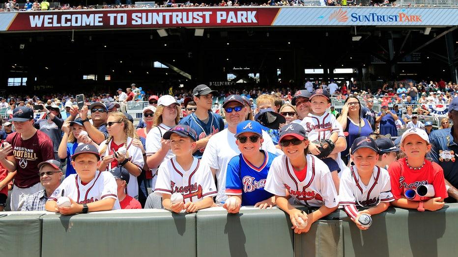MLB: JUN 16 Phillies at Braves