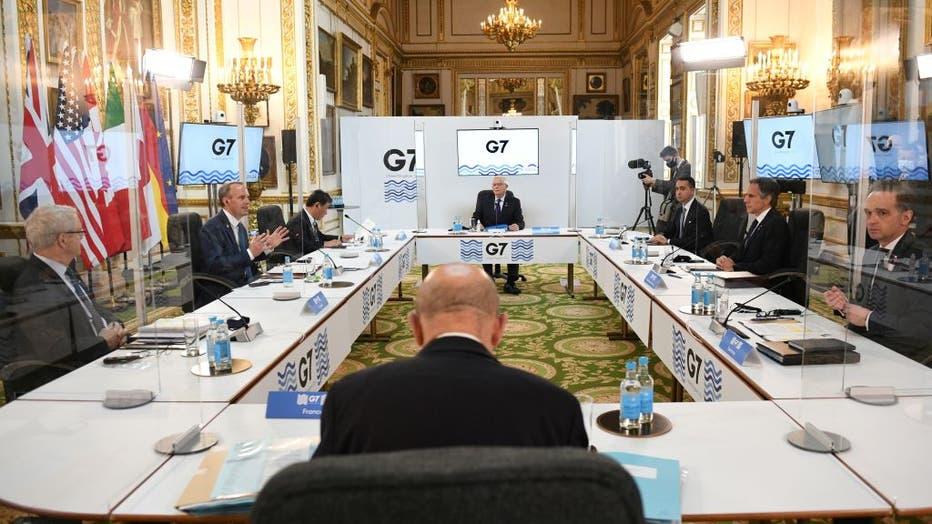 TOPSHOT-BRITAIN-G7-DIPLOMACY