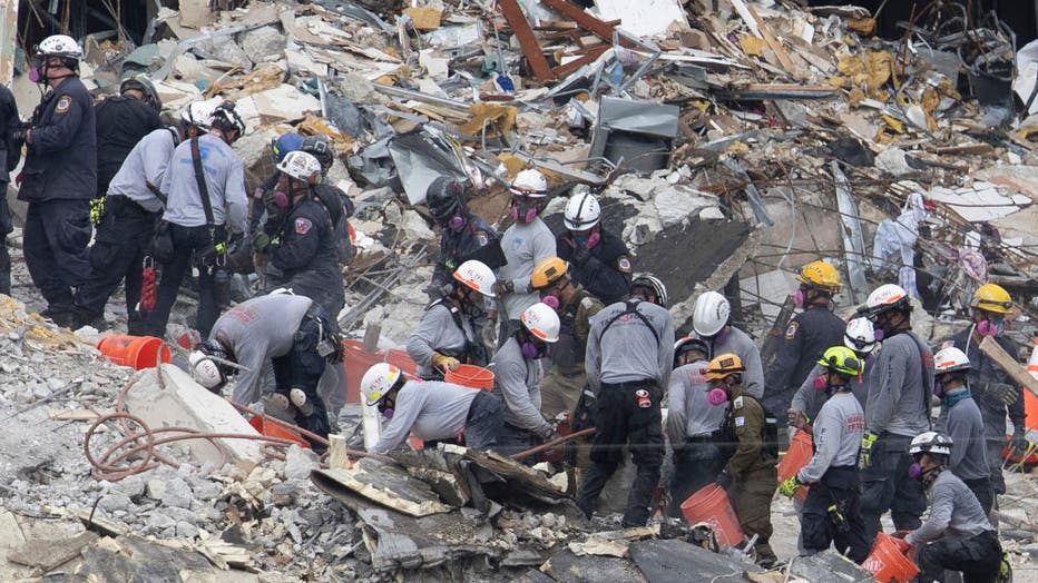 Over One Hundred Missing After Residential Building In Miami Area Partially Collapses