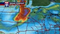 Smoke forecast for Minnesota