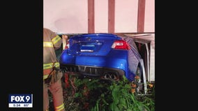 Family left picking up pieces after car crash causes significant damage to St. Paul home