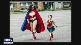 Minnesota mayor's superhero alter ego motivates girl through cancer battle