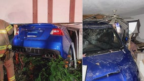 Family left picking up pieces after crash causes significant damage to St. Paul home