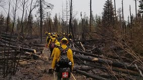 Crews continue fighting fires in Superior National Forest, Canada