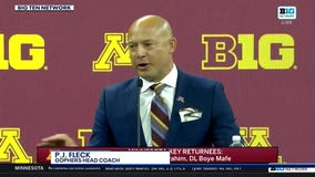 P.J. Fleck talks all things Gophers football at Big Ten Media Day