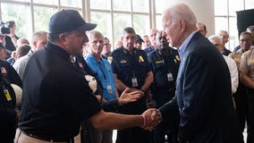 'Never give up hope,' Biden tells Florida condo collapse victims' families