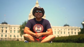 50 push ups, 50 states, 50 days: Man stops in Minnesota for journey to fight veteran suicide