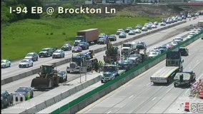 Multi-vehicle crash on I-94 in Maple Grove causing delays