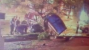 Video shows Minneapolis police squad car deadly crash during pursuit