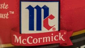 McCormick recalls 3 seasonings over salmonella concern