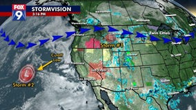 Two chances for rain this week after hot, dry 4th of July weekend