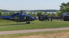Wakeboarder regains consciousness after hard fall on Lake George
