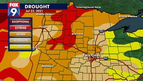 Twin Cities experiencing one of driest summer stretches in decades