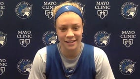 'It was gross': After anxious week, Rachel Banham back with Minnesota Lynx