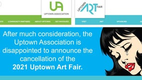 2021 Uptown Art Fair canceled due to 'unanticipated challenges'