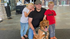 Minnesota Wild say goodbye to team dog Hobey as he heads onto new chapter
