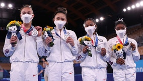 2 Minnesota gymnasts win team silver medals at Tokyo Olympics