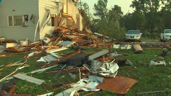 Severe storms damage houses, crops in western Wisconsin