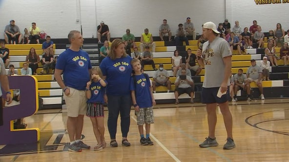 Boy in need of heart transplant gets help from former Viking Chad Greenway