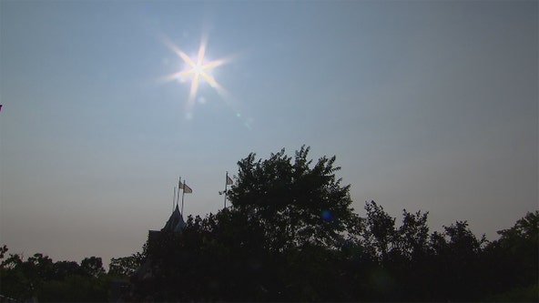 Air quality advisory issued for western Wisconsin due to wildfire smoke