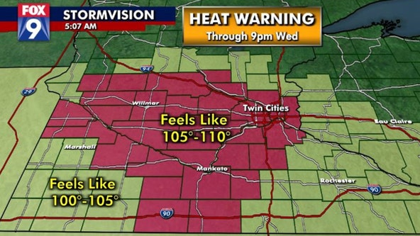 Heat wave set to intensify for many parts of Minnesota