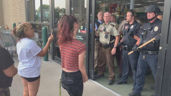 Menards closes Golden Valley store for night after family protests worker's death