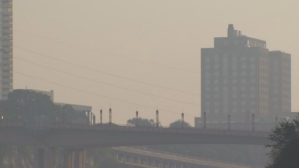 Smoky air expected to linger in Minnesota until Tuesday, worsen over weekend