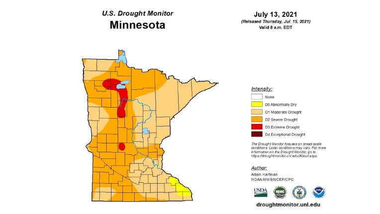 mn drought monitor