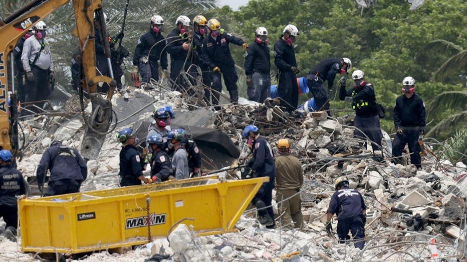 Condo search rescue