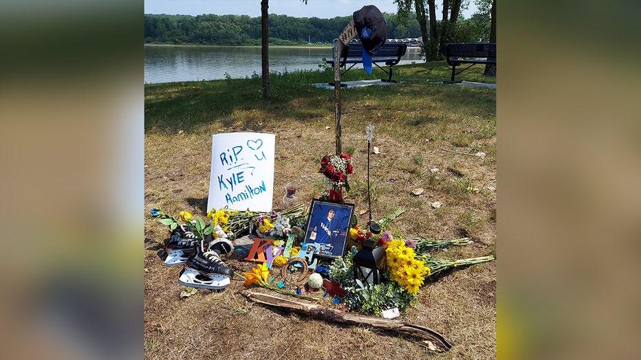 Kyle Hamilton memorial Hastings MN