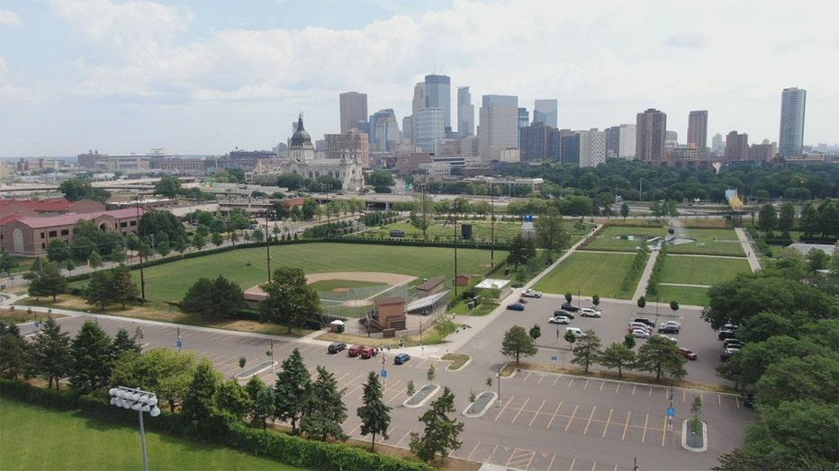 Parade Stadium in Minneapolis