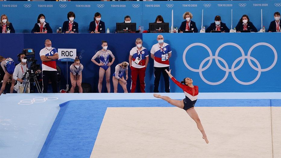 Suni Lee team final