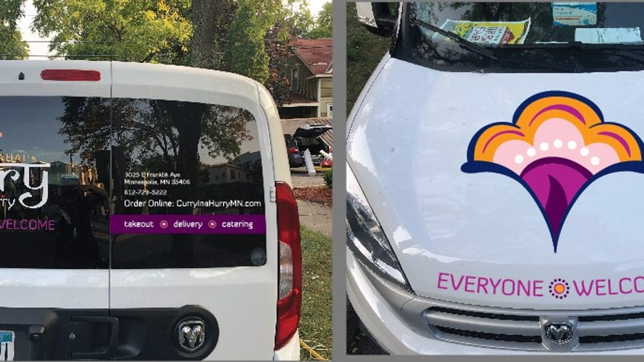 curry in a hurry van