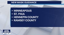 Mask mandates reappear in Minneapolis, St. Paul city-owned buildings