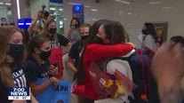 Sunisa Lee returns to Minnesota after gold medal win