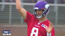 Kirk Cousins returns to Vikings practice, won't comment on vaccine status