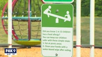 Girl gets food allergy awareness signs placed in city parks
