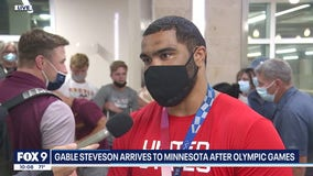 Gophers wrestler Gable Steveson back home after winning Olympic gold in Tokyo