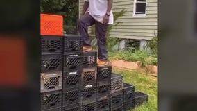 Milk Crate Challenge is fun, but risky