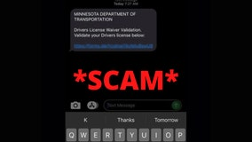 MnDOT, DVS warn about phishing scam involving texts about your driver's license